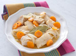 Ricetta Baccalà fritto e poi in carpione