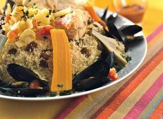 Ricetta Grande cous cous di pesce