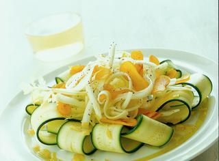 Ricetta Carpaccio di zucchine e bottarga