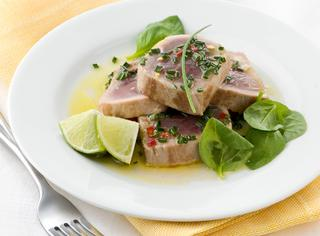 Tagliata di tonno piccante