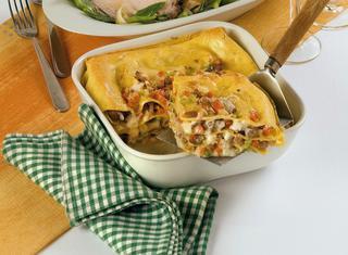 Ricetta Lasagne alla salsiccia