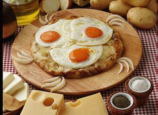 Ricetta Rosti con uova