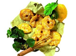 Frittelle dolci di mele