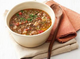 Ricetta Minestra di lenticchie all'abruzzese