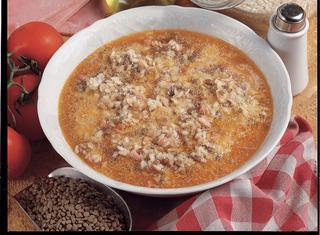 Minestra con lenticchie