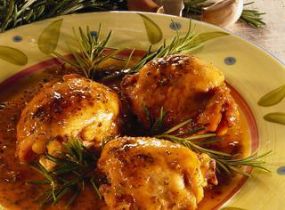 Pollo alla birra con rosmarino