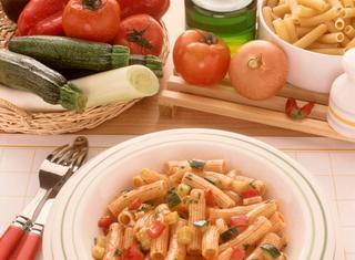 Maccheroni vegetariani
