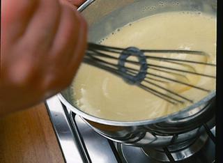 La crema per i krapfen