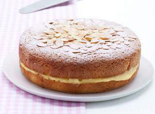 Ricetta Torta soffice con crema alla scorza d'arancia