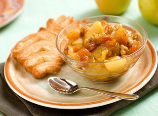 Ricetta Composta di mele e albicocche secche