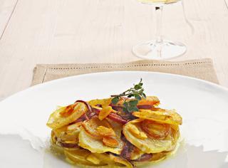 Ricetta Patate e cipolle al forno