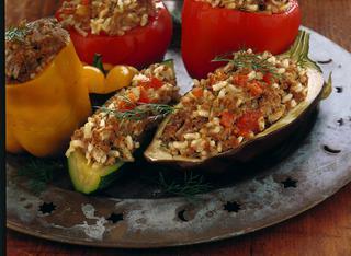 Verdure alla turca miste
