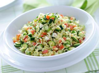 Ricetta Insalata di riso con crudité