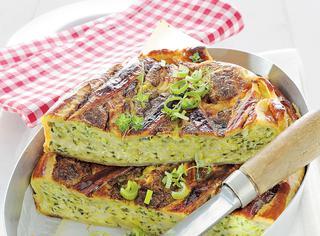 Quiche di zucchine e pecorino