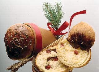 Ricetta Vasetti di pane al salame