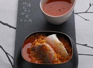 Zuppa di gallinella con cous cous