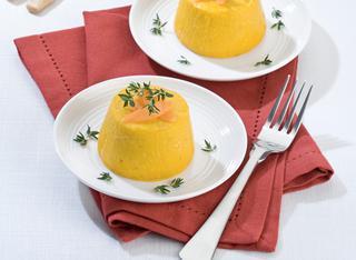 Ricetta Piccoli flan di carote