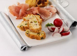 Ricetta Cantucci salati con prosciutto crudo