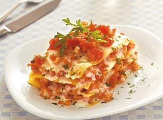 Lasagne con ragù di pesce