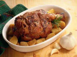 Ricetta Stinco con patate