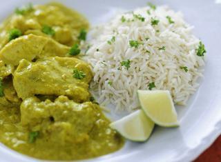 Ricetta Pollo al curry light
