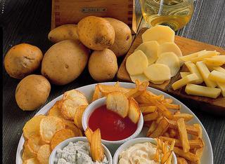 Ricetta Fantasia di patate fritte