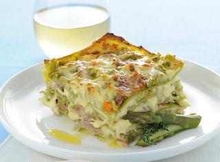 Ricetta Lasagne verdi agli asparagi