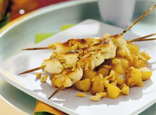Ricetta Spiedini di pollo marinati