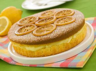 Ricetta Torta con la crema di limone