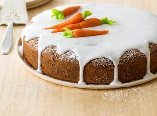 Ricetta Torta di carote glassata