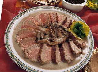 Filetto di maiale ai porcini
