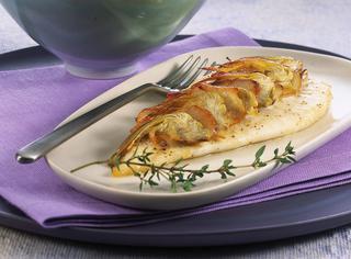 Rombo al timo con carciofi e patate
