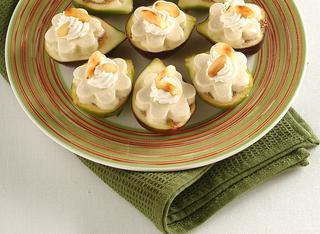 Bocconcini dolci di semifreddo ai fichi e mandorle