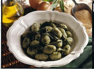 Ricetta Gnocchetti di spinaci (strangolapreti)