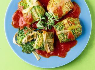 Ricetta Fagottini di pesce spada in foglia di verza