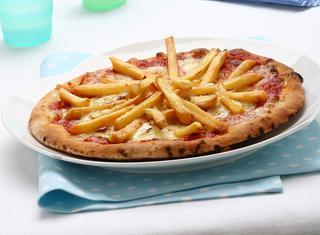 Ricetta Pizza con le patatine fritte