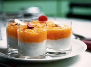 Ricetta Bicchierini gelati alla crema di tapioca