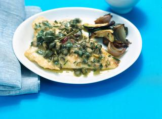 Orata mediterranea con zucchine