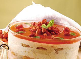 Ricetta Dolce soffice con yogurt, ricotta e fragoline di bosco