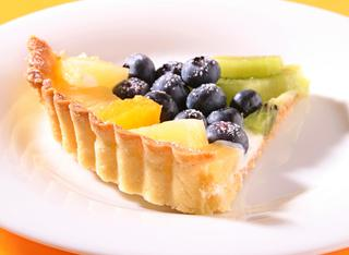 Crostata di frutta e yogurt
