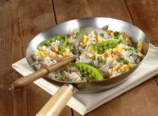 Ricetta Riso alla cantonese con uova e piselli