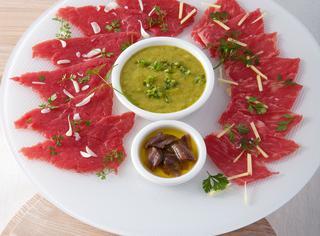 Ricetta Sashimi di manzo