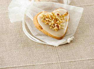 Ricetta Biscotti a forma di cuore glassati