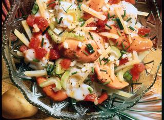 Ricetta Insalata con patate all'isolana