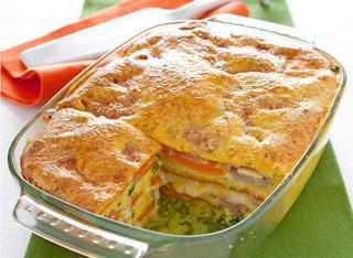 Ricetta Parmigiana di zucchine e carote