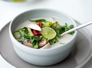 Ricetta Zuppa di pollo thai