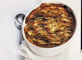 Gratin di patate e zucchine