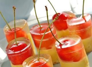 Ricetta Bicchierini di gelatina di zenzero