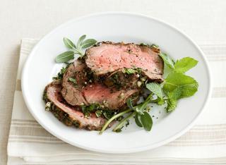 Roast beef in crosta di erbe aromatiche
