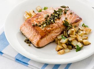 Ricetta Tranci di salmone al finocchio